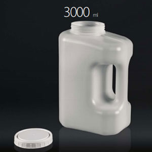 24 h urine collection containers- 3000ml each