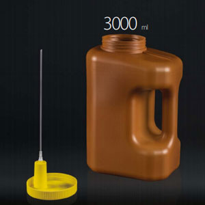 24 h urine collection containers - 3000ml each